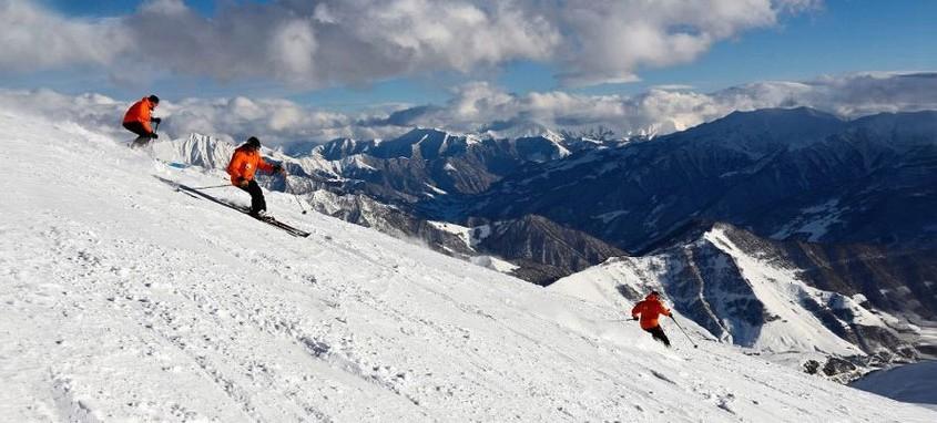 dirbtinis sniegas gruzijoje