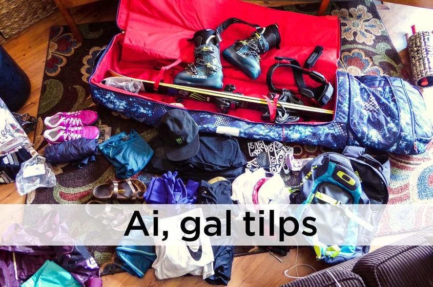 slidinejimo bagazo pakavimas