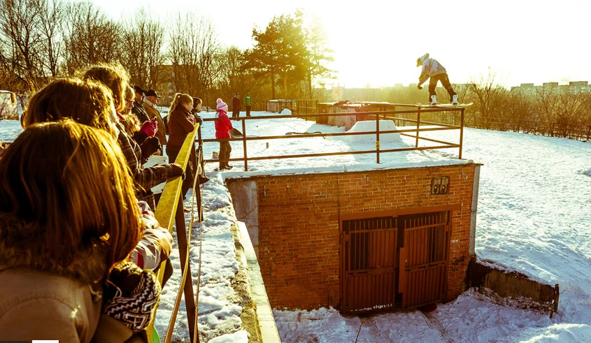 snowboarding lithuania